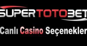 Supertotobet Canlı Casino